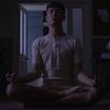 jelazakazone: Alex Vlahos in skivvies sitting lotus (keenan-yoga)