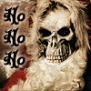 dragonyphoenix: Death as the Hogfather (santa muerte)