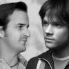 gabrielsam: picture: Gabriel and Sam, greyscale ([grey] gabrielsam)