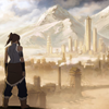 gorgeousnerd: The back of Korra from the <i>Avatar: The Legend of Korra</i> preview image. (Korra.)