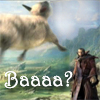 jmtorres: a flying sheep, which I am informed has special significance in World of Warcraft (niqaeli: sheep, meme)