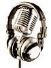 paraka: I set of headphones balanced on a mic (NF-Headphones & Mic)
