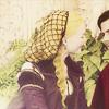 goodbyebird: The Borgias: Lucrezia and Cesare sit in the garden. (Borgias)