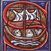 msilverstar: decorated letter S (medieval s)