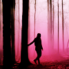 yue_ix: Teen Wolf: Allison sillouhetted against forest (Fairytale world)