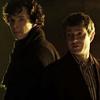 beatrice_otter: John Watson and Sherlock Holmes, from BBC's 2010 Sherlock miniseries (John and Sherlock)