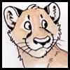 vik_thor: Puma, artwork (happy puma)