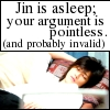 comma_chameleon: (Jin is usually invalid.)