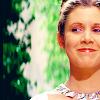 feuille: princess leia smiling (leia smiles proudly)