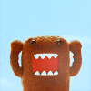 newredshoes: Domo-kun doing victory arms! (domo-kun | victory arms!)