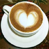 tinwateringcan: coffee with heart drawn in cream (cuppa)