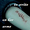 metaphasia: ([harry potter] to write love on her arms)
