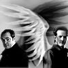 bientot: Gabriel/Crowley woven wings (Gabriel Crowley)