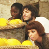muccamukk: Nala, Anwar and Rina hide behind a giant basket of squash. (Sinbad: We're Hiding!)