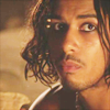 muccamukk: Sinbad looks up with an innocent and concerned expression (Sinbad: Puppy Eyes)