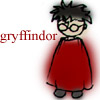 mayhap: sketchy Harry in red with text Gryffindor (gryffindor)