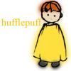 mayhap: sketchy boy in yellow with text Hufflepuff (hufflepuff)