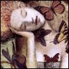 mayhap: Delirium surrounded by butterflies (delirium)