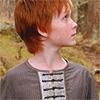 sebastard: a readheaded boy in profile. (bitty glance-around)
