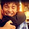 juniperphoenix: Clark and Lex hugging (Hugs)