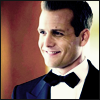 notgivingyourmoneyback: Harvey Specter smiling and wearing a tux ([pos] tux)