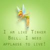 "ses: (glee - ""I am like tinkerbell. I need app)"