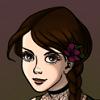 shiyiya: Shiyiya, a very pale white girl with brown hair and eyes. (Default)