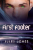 julesjones: cover art from futuristic gay romance novel First Footer (First Footer, cover art)