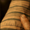 "highlander_ii: Tom Creo's left arm with rings of tattoos from ""The Fountain"" ([TomC] tattoos - lft arm)"