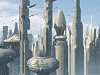 artisticabandon: futuristic cityscape (city)