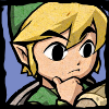 stealth_noodle: Minish Cap Link thoughtfully examining a map. (interested)