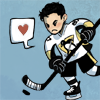 james: Chibi!Sidney Crosby is serious about hockey. (hockey_sid)