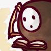 terabient: Arakune reading (blazblue: arakune - thinking)