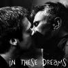 spacewolfcub: Jack and Daniel kiss, backlit (Kiss_In these dreams)