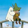 longleggedgit: ((Moomins) Moomintroll & Snufkin)