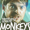 xans: Were there monkeys? Terrifying space-monkeys? (Bones-Spacemonkeys)
