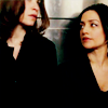 monanotlisa: Kalinda looking at Alicia, both of The Good Wife (kalinda & alicia - tgw)
