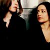 monanotlisa: Kalinda looking at Alicia, both of The Good Wife (kalinda & alicia - tgw)