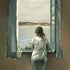 trystings: (Dali woman in front of the window)