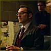 liviapenn: reese hovering behind finch (poi: me and my shadow)