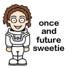 """nyssa23: River Song, caption: """"once and future sweetie"""" (DW: river once future)"""