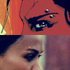 maharetr: Comic and movie images of Aisha's eyebrow ring (The Losers) (Aisha)