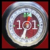 stapsdoes101things: '101' superimposed on a compass (101compass)