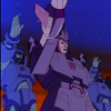 caiusmajor: Cyclonus and Scourge and/or some Sweeps, hailing Galvatron (Hail Galvatron!)