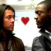 james: Eliot and Hardison looking at one another (eliot_hardison)