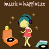 gwyn: (music happiness)