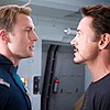 next_to_normal: Tony and Steve facing off (Tony/Steve)