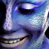 gamerchick: Close-up of Zhaan from Farscape looking beautiful and joyful (Zhaan)