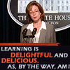 ext_20950: CJ Cregg - Learning is delightful and delicious, as by the way am I (learning is delightful and delicious)