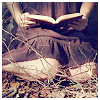 blueswan: girl reading book (book reading)